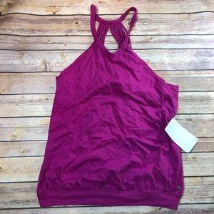 Fabletics Emma Tank Berry Color Size L